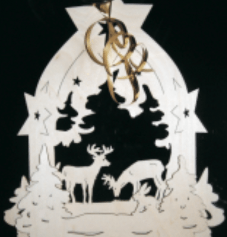 Deer-Ornament-450x470